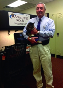 Chief Willcox with cat5