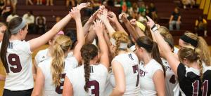 Volleyball- Huddle