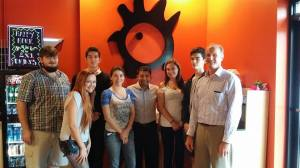 Economics club meets with Armstrong alum and owners of Latin Chicks.