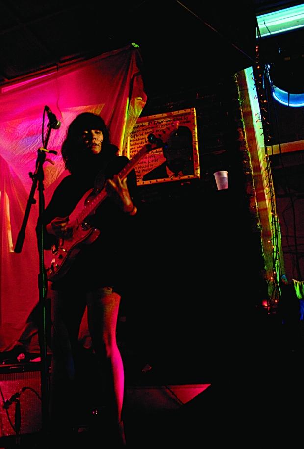 Beneath Trees - Genevieve Chasty on guitar