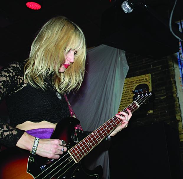 Cobalt Cranes - Kate Betuel on bass
