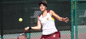 Tennis Pic  -Senior Clara Perez-  (Armstrong Comm.)