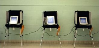 vote booth