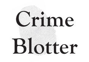 crime blotter
