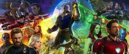 "Promotional artwork for ""Avengers: Infinity War."" Photo by Marvel Studios."