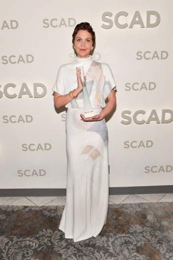 "21st SCAD Savannah Film Festival - Maggie Gyllenhaal Outstanding Achievement In Acting And Producing Award Presentation & Screening Of ""The Kindergarten Teacher"""