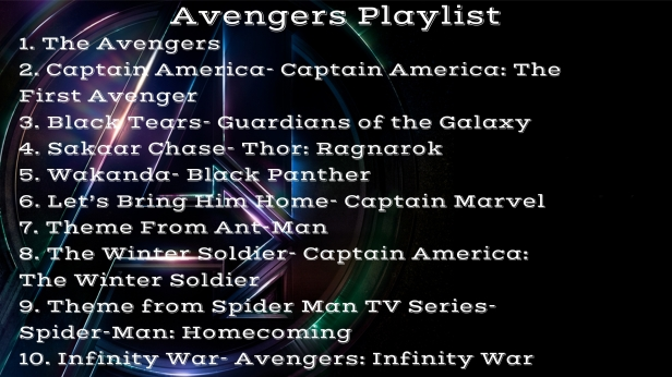 Avengers Playlist